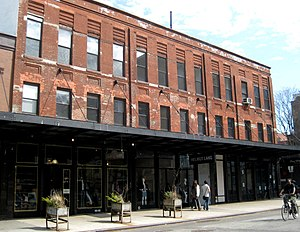 Meatpacking District, Manhattan - An old meatpacking building converted into a boutique