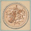Medallion with putti holding a cello MET DP811637.jpg