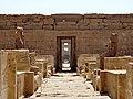Medinet Habu Ramses III. Tempel Sanktuar 07.jpg