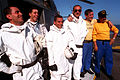 Members of the helicopter crash crew of the French destroyer FS Jean de Vienne (D-463).JPEG