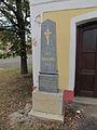 Memorial of 600 years of Ohrazenice, Jaroměřice nad Rokytnou, Třebíč District.JPG