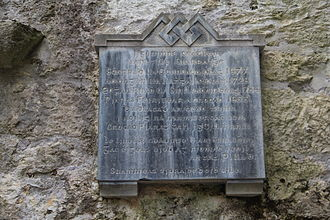 Piaras Feiritéar - Image: Memorial to 17th & 18th century Munster poets, Muckross Abbey, Cill Airne 1