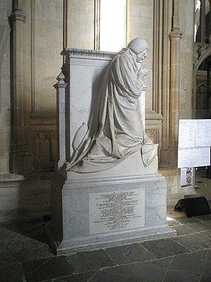 Brownlow North - Memorial to North within Winchester Cathedral.
