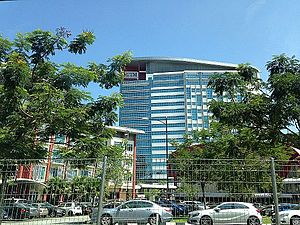 Semarak - Menara Razak at the Kuala Lumpur campus of Universiti Teknologi Malaysia