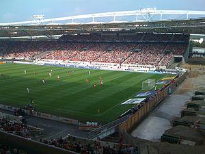 Willie Irvine - Irvine scored his first goal in European football at Stuttgart's Neckarstadion on 20 September 1966.