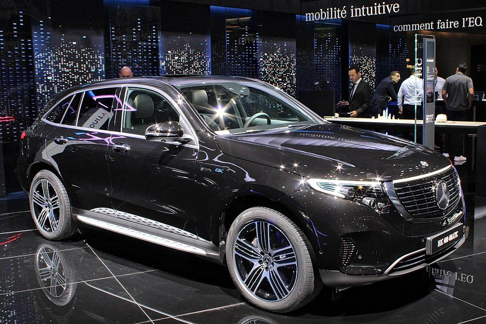 Mercedes-Benz EQC, Paris Motor Show 2018, IMG 0599