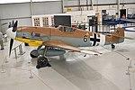 Messerschmitt Bf109G-6 Trop '10639 Black 6' (G-USTV) (47024103962).jpg