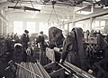 Metal workers in Tampere workshop 1955.jpg