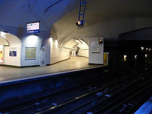 Metro de Paris - Ligne 3 - Gambetta 10