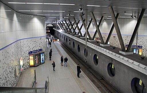 Metrostation Rotterdam Wilhelminaplein