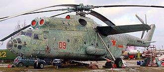 Mil Mi-6 - A Mi-6 at Riga, Latvia