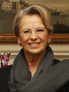 Michèle Alliot-Marie, French Minister of Foreign and European Affairs (5277700729) (cropped).jpg