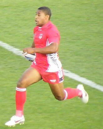 Michael Jennings (rugby league) - Jennings playing for Tonga in 2008
