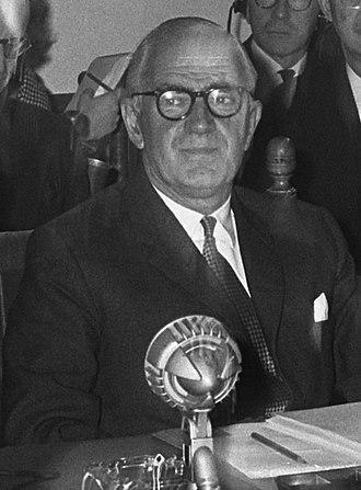 Michael Stewart, Baron Stewart of Fulham - Image: Michael Stewart