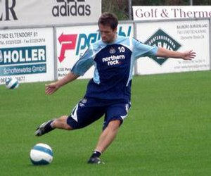 Michael Owen - Owen training with Newcastle in 2007
