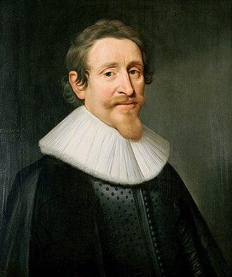 Hugo Grotius - Hugo Grotius – Portrait by Michiel Jansz. van Mierevelt, 1631
