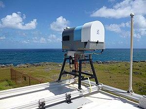Microwave radiometer - Image: Microwaveradiometerb ardabos
