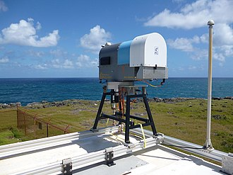 Microwave radiometer - Humidity and Temperature Profiler (HATPRO-SUNHAT) at the Barbados Clouds Observatory.