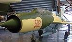 Mig-21 PF, Royal Air Force Museum, Cosford. (34156896813).jpg