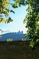 Mikulov - Castle Park - View East on Svatý kopeček.jpg