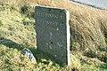 Milestone on the Gwynedd-Conwy border - geograph.org.uk - 683157.jpg