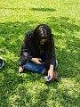 Millennial in a park.jpg