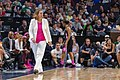 Minnesota Lynx Head Coach, Cheryl Reeves watches the Lynx vs Seattle Storm game at Target Center, the Storm won the game 81-72.jpg