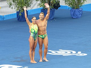 Competitive swimwear Swimsuit, clothing, equipment and accessories used in the aquatic competitive sports