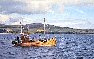Hunted (film) - 'Mizpah' BA-11 Clyde fishing boat built by Noble of Girvan in 1949