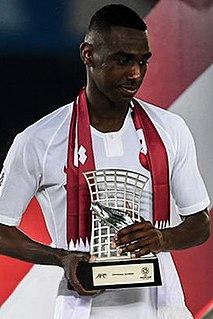 Almoez Ali Qatari footballer