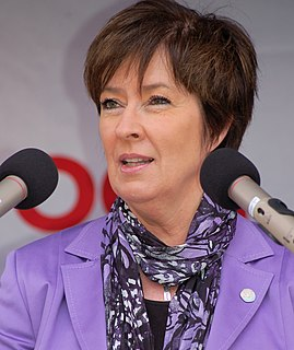 Mona Sahlin Swedish politician