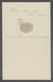 Monas termo - - Print - Iconographia Zoologica - Special Collections University of Amsterdam - UBAINV0274 113 25 0004.tif