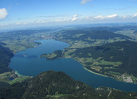 Image illustrative de l'article Lac de Mondsee