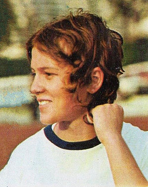 Monika Zehrt - Monika Zehrt in 1972