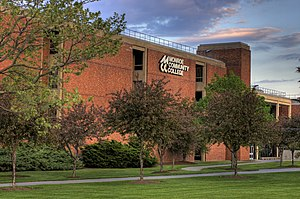 Community college - Monroe Community College main campus, in Rochester, New York