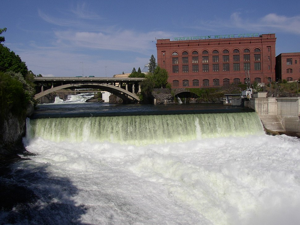 Monroe Street Dam on Spokane River