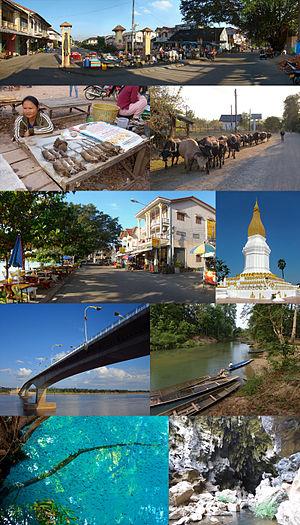 Khammouane Province - Image: Montage of Khammouane Province, Laos