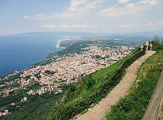 Palmi - Image: Monte Sant'Elia 01