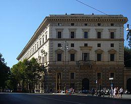 Palazzo brancaccio roma wikipedia for Architetto giardini roma