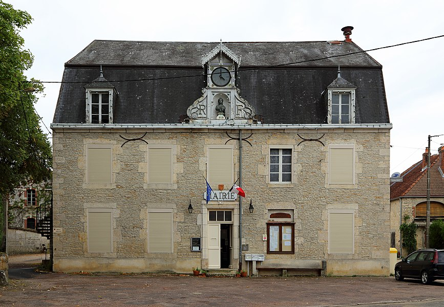 Montigny-sur-Aube (Côte-d'Or department, France): town hall