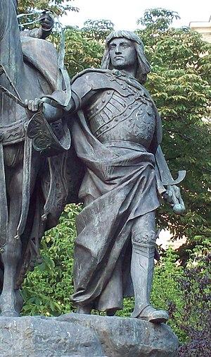 Gonzalo Fernández de Córdoba - Image: Monumento a Isabel la Católica (Madrid) 04a