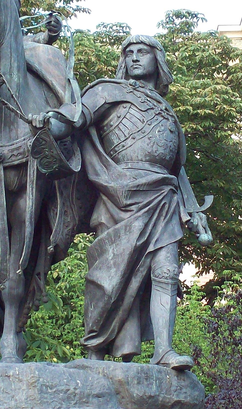 Monumento a Isabel la Católica (Madrid) 04a
