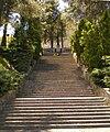 Monumento ai caduti dii tutte le guerre di Montecarotto scalinata.jpg
