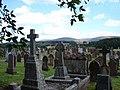 Morton Cemetery, Thornhill - geograph.org.uk - 699166.jpg