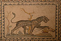 Mosaic of Pantera with Goat in Museo archeologico nazionale (Taranto).jpg