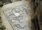 Mosaico delle terme romane.
