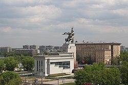 Skyline of Ostankinsky縣