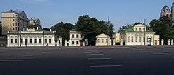 Moscow novinsky boulevard no cars