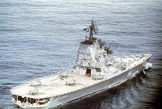 Soviet helicopter carrier <i>Moskva</i>