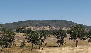 Mount Alexander - View from near Harcourt